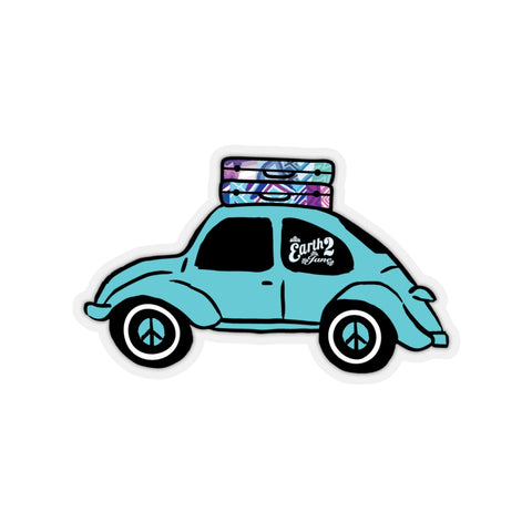 Earth 2 Jane 'Blue Bug' Sticker