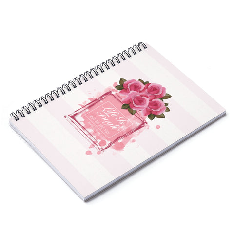 Earth 2 Jane 'Perfume' Spiral Notebook - Ruled Line
