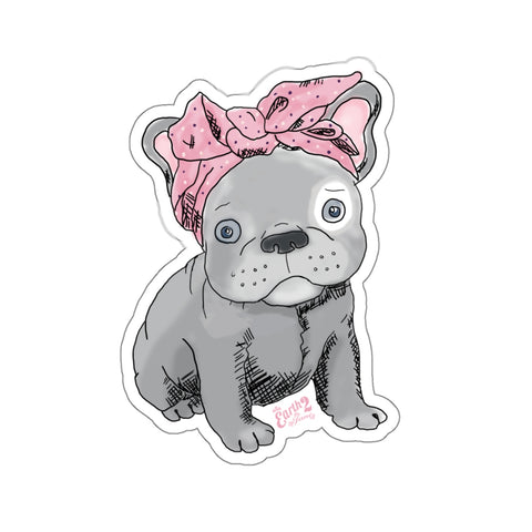 Earth 2 Jane 'Frenchie' Sticker