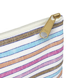 Earth 2 Jane 'Happy' Stripe Accessory Pouch