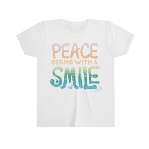 Earth 2 Jane 'Peace Begins with a Smile' T-Shirt