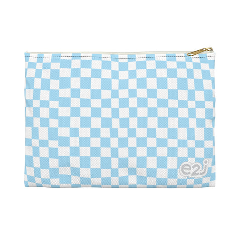 Earth 2 Jane 'Blue Checkers' Accessory Pouch