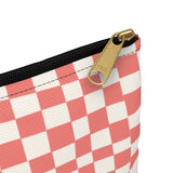 Earth 2 Jane 'Red Checkers' Accessory Pouch
