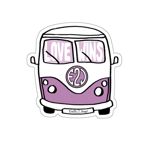 Earth 2 Jane 'Purple Van' Sticker