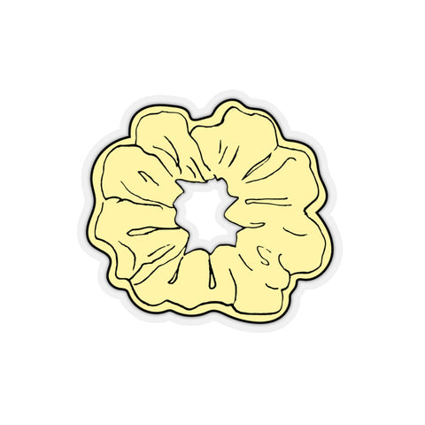 Earth 2 Jane 'Yellow Scrunchie' Sticker