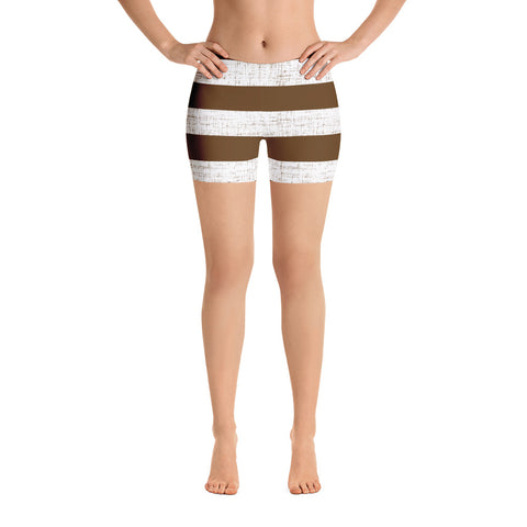 Earth 2 Jane 'Brown Stripe' Shorts