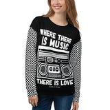 Earth 2 Jane 'Where There is Music' Sweatshirt