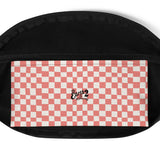 Earth 2 Jane 'Red Checker' Fanny Pack