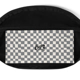 Earth 2 Jane 'Grey Checker' Fanny Pack
