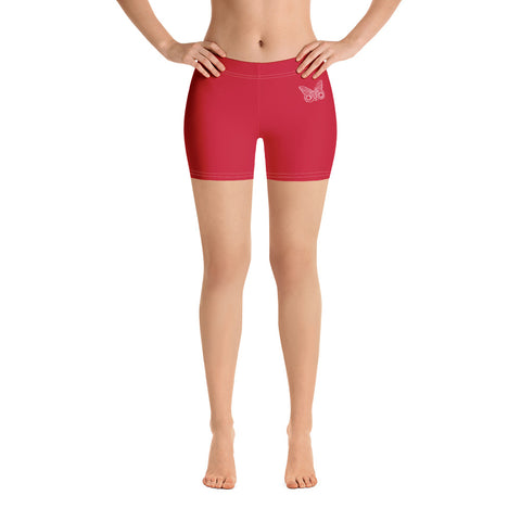 Earth 2 Jane 'Red Butterfly' Shorts