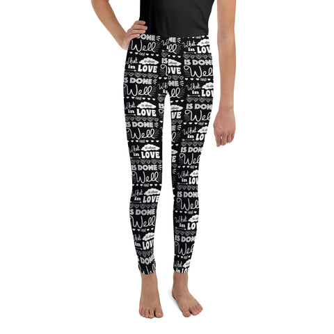 Earth 2 Jane 'In Love' Youth Leggings