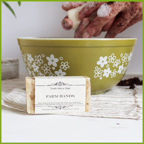 Handmade Farmhands Soap