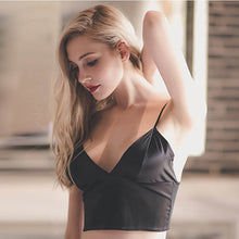 Load image into Gallery viewer, Sexy Satin Crop Tops