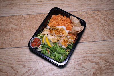 Baja Fish Tacos Meal Delivery