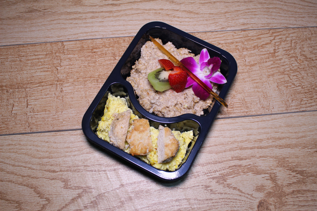 Oats, Egg, & Ground Turkey Meal Delivery