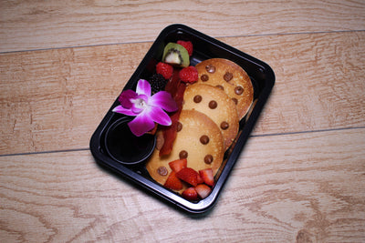 Chocolate Chip Protein Pancakes Meal Delivery