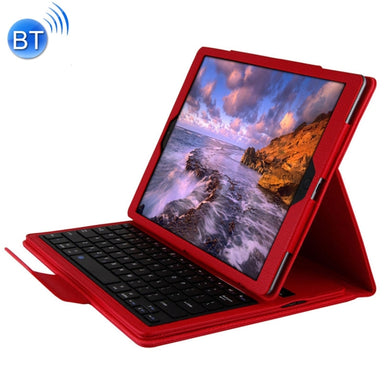 Removeable Bluetooth Keyboard Leather Case for iPad Pro 12.9 Red