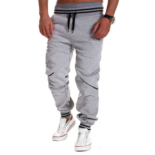 High Quality Sweatpants Grey or Black W/Stripes