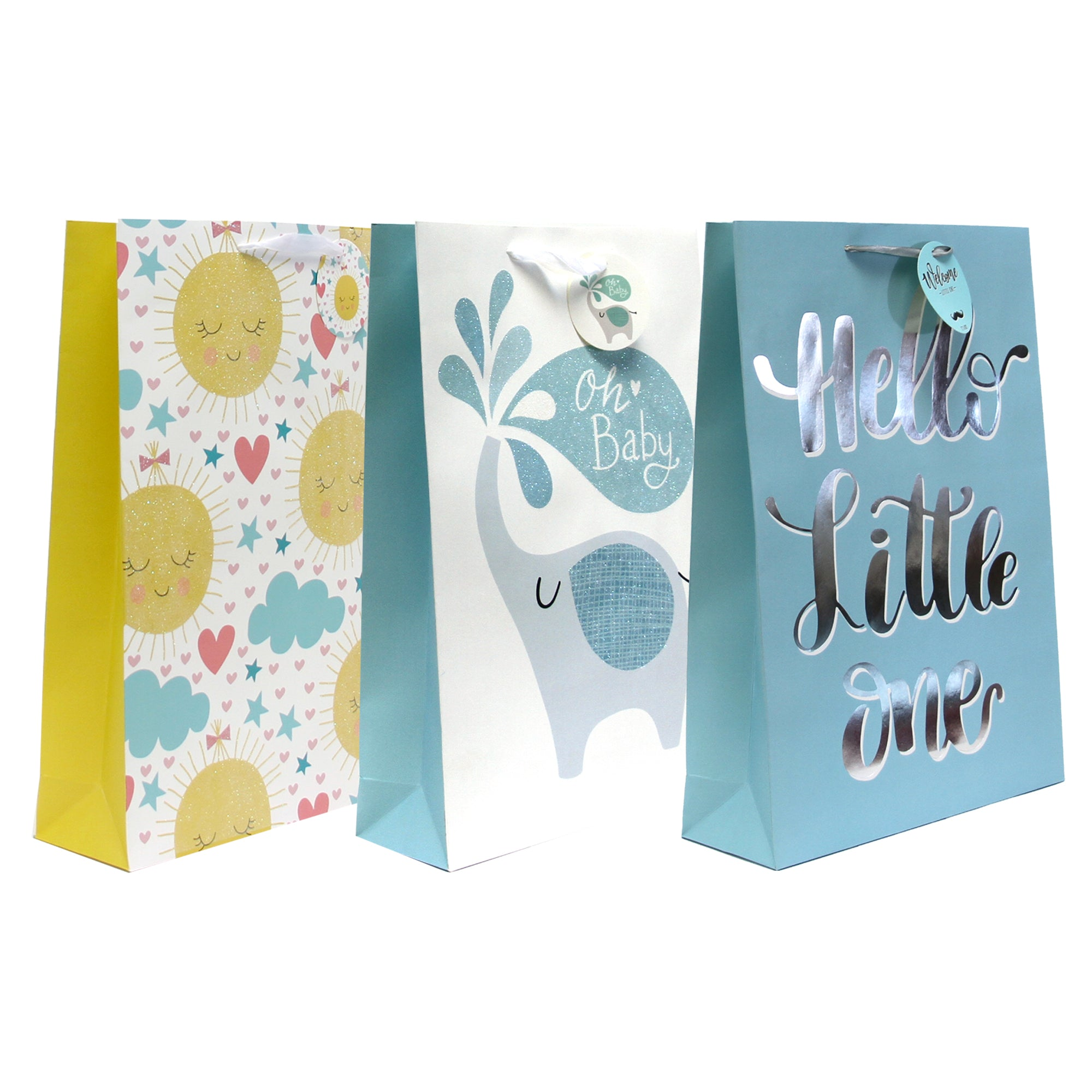 HELLO LITTLE ONE BABY SHOWER GIFT BAG