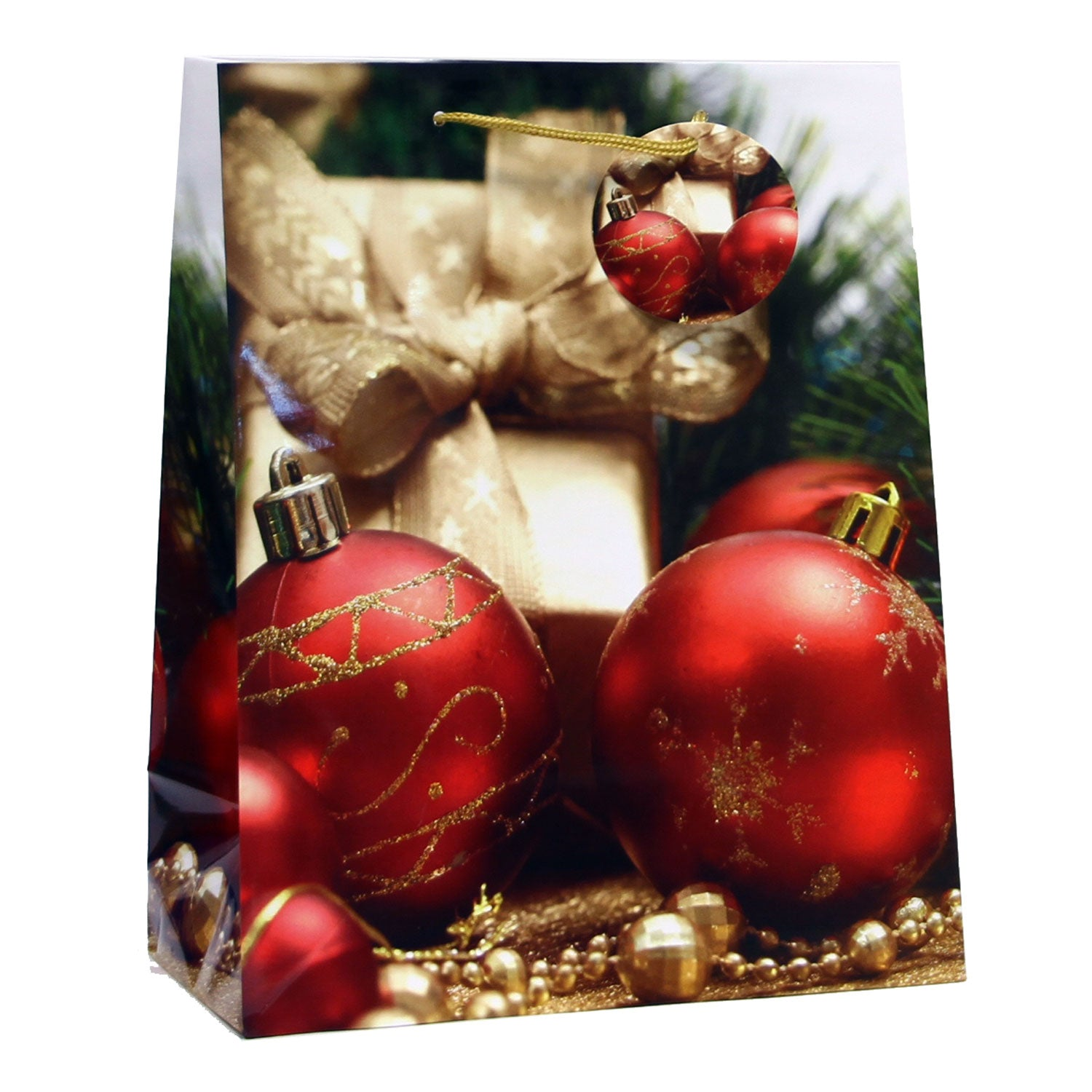 XMAS SPARKLE CHRISTMAS GLOSSY HOLIDAY GIFT BAGS