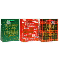 HOLIDAY MIRACLES CHRISTMAS PREMIUM GIFT BAGS