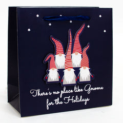 GNOMES CHRISTMAS HOLIDAY SMALL PAPER GIFT BAGS