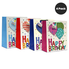 B-DAY BALLOONS BIRTHDAY GIFT BAGS