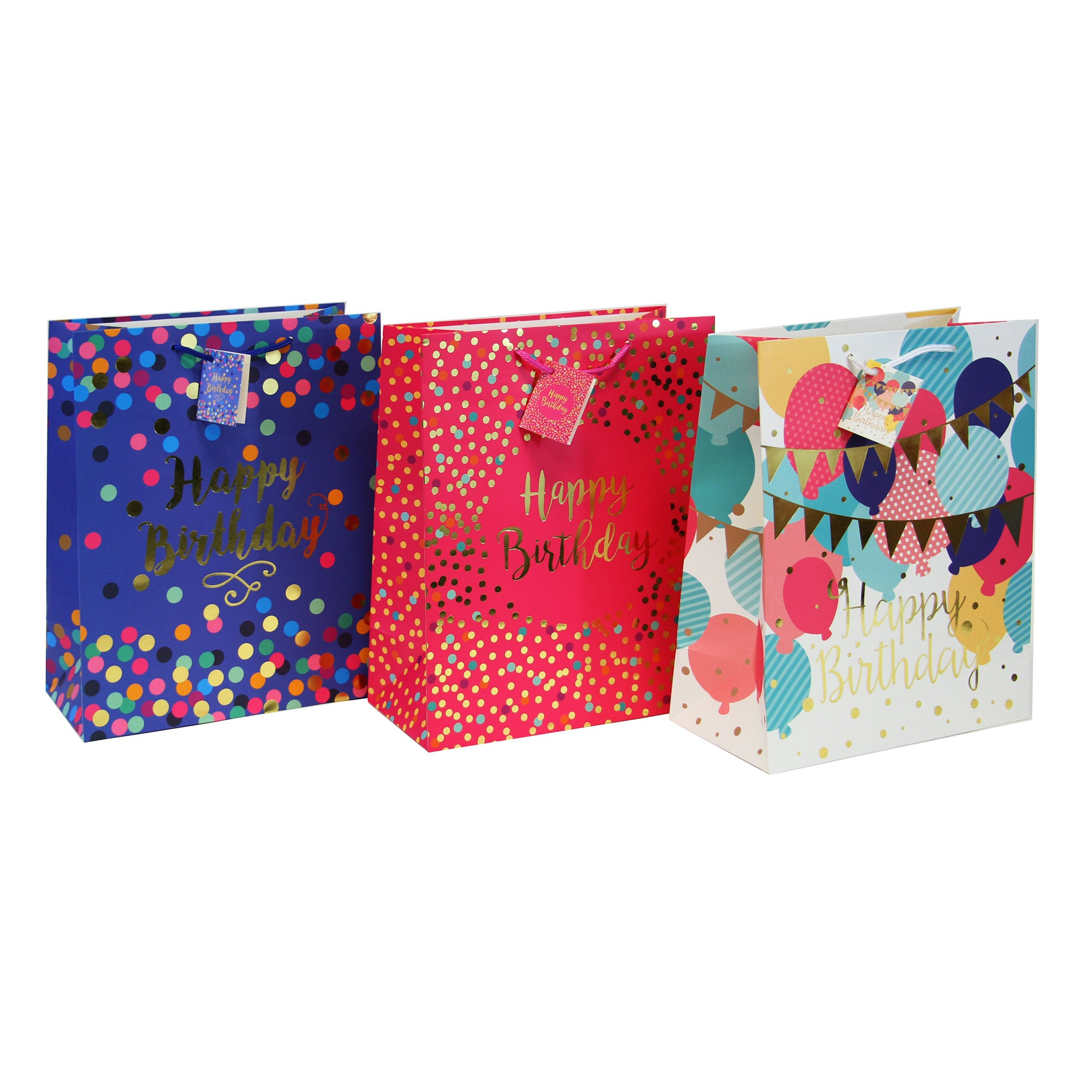 SURPRISE! LARGE BIRTHDAY GIFT BAGS