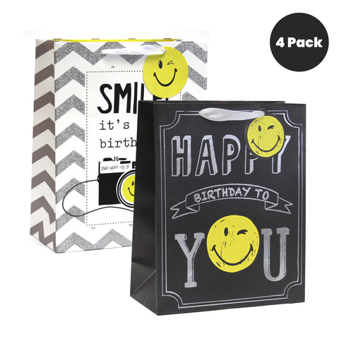 B-DAY SMILES LARGE GIFT BAGS