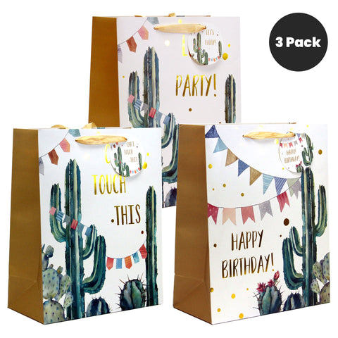 DESERT CELEBRATION BIRTHDAY GIFT BAGS