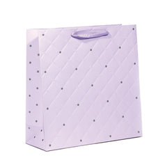 TRUE LOVE LARGE EMBOSSING PASTEL GIFT BAGS