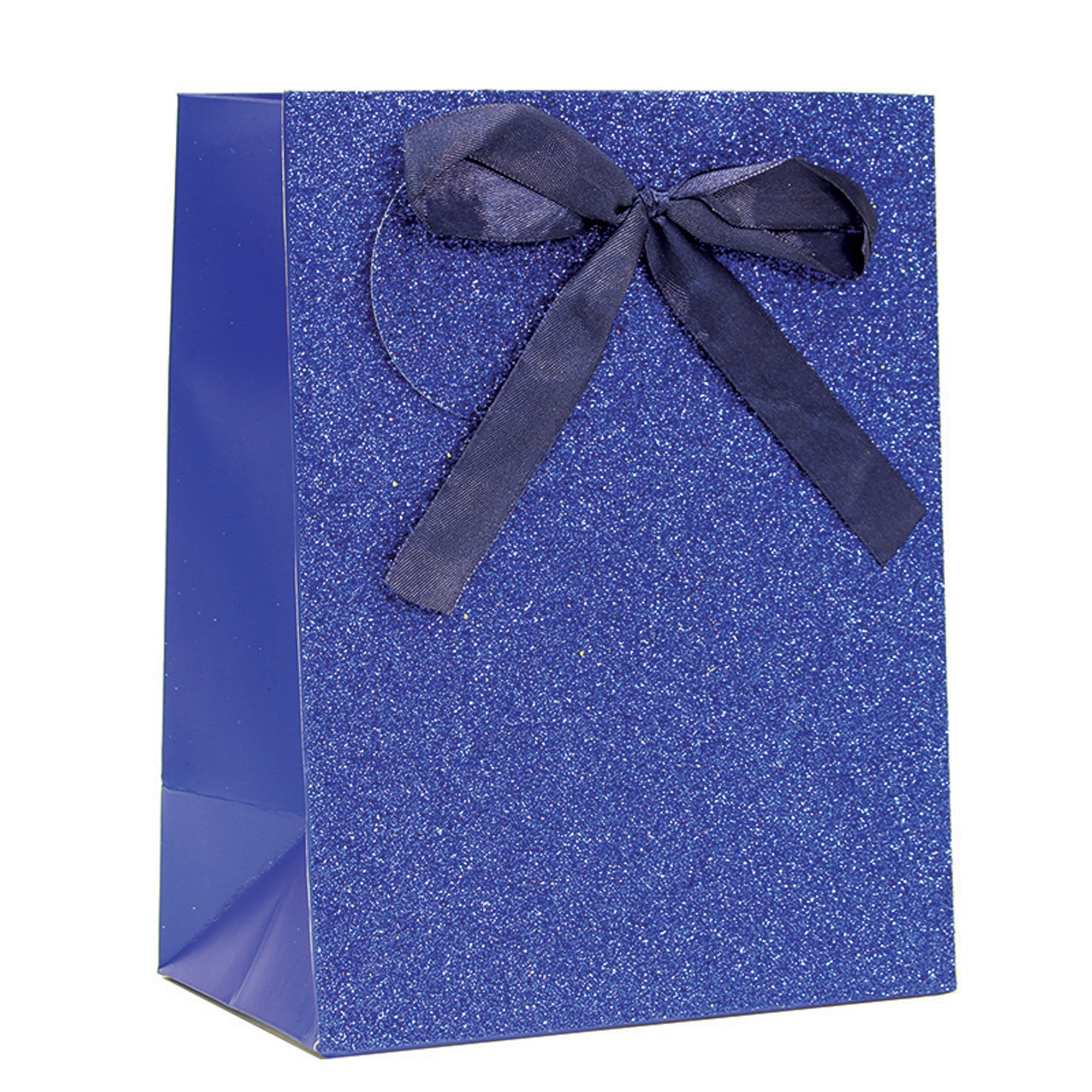 ROYAL BLUE SPARKLE GLITTER GIFT BAG