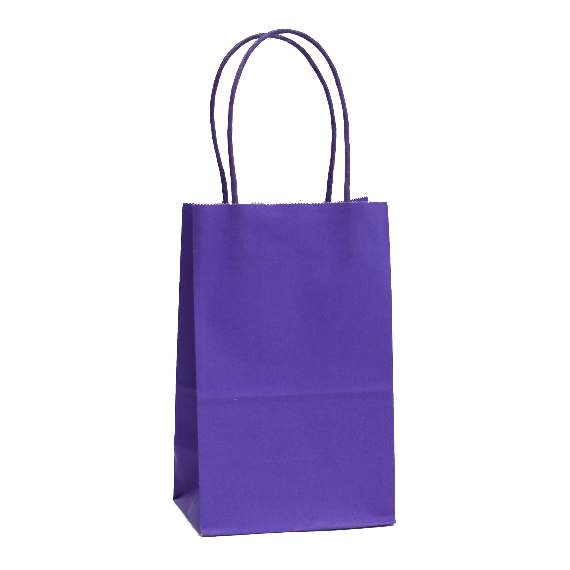 [Free Shipping] Halloween Edition Purple Kraft Bags
