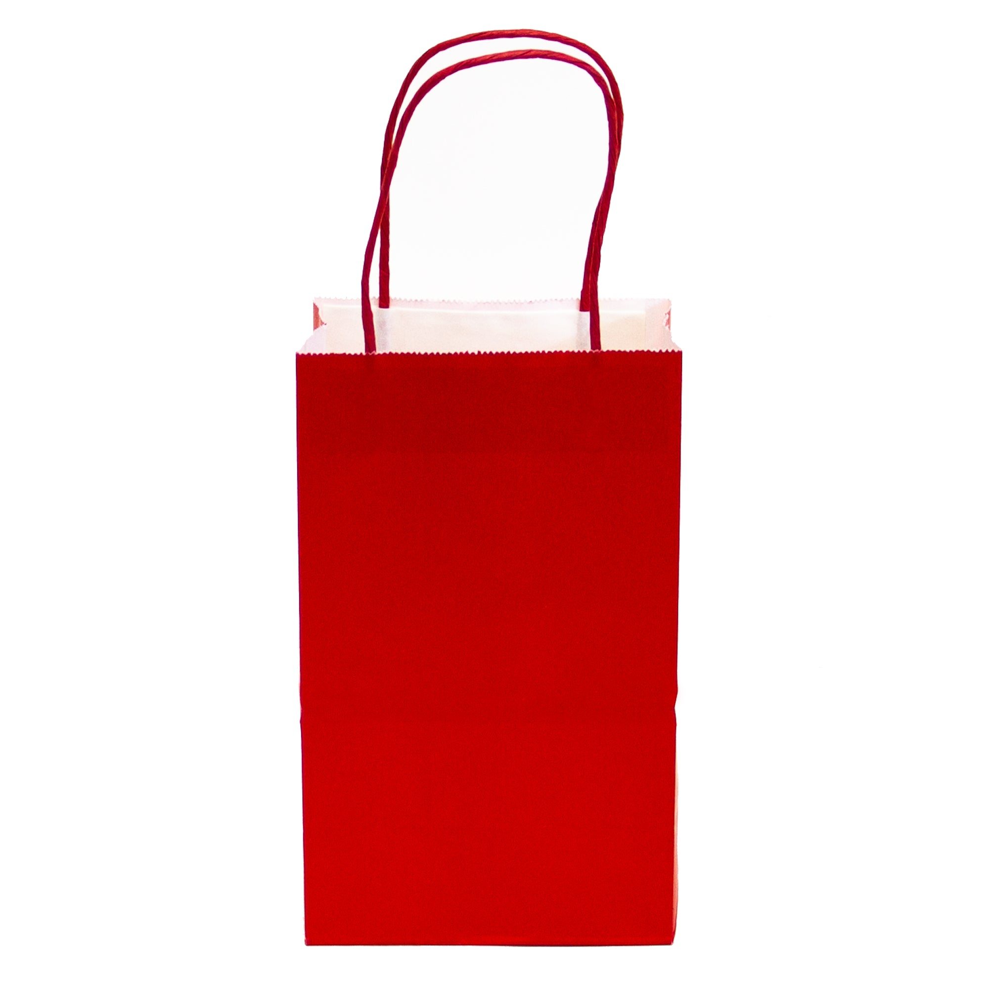 Kraft Bags, Red kraft bag, high quality matte kraft paper gift bags, small kraft bags, favor bags, christmas gift bags in bulk
