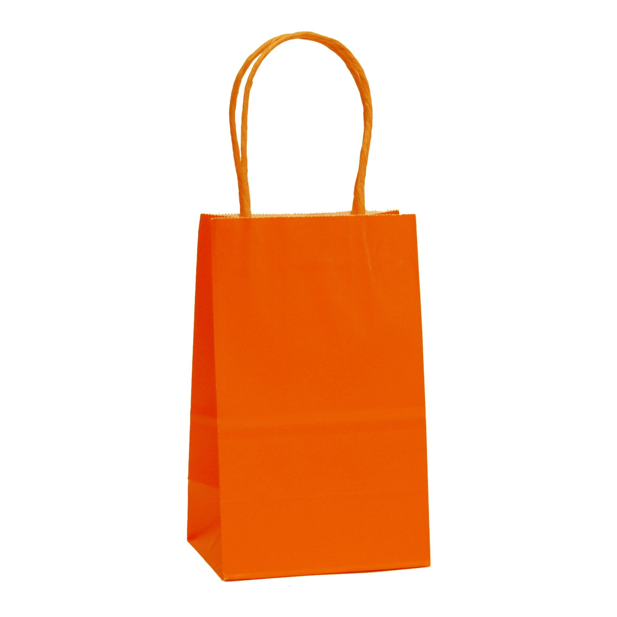 [Free Shipping] Halloween Edition Orange Kraft Bags