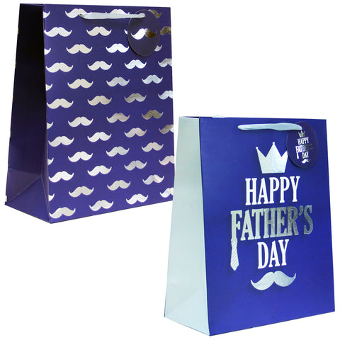 2 Pack | Father's Day Premium Gift Bags