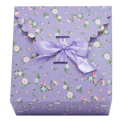 lavender gift boxes, flower edge gift boxes, large favor gift boxes, scallop edge gift boxes, favor boxes, gift boxes, pastel gift boxes with ribbons, floral pattern gift boxes, baby shower favor gift boxes, wedding favor gift boxes, teacher's appreciation week gift boxes, gift boxes in bulk | Gift Expressions