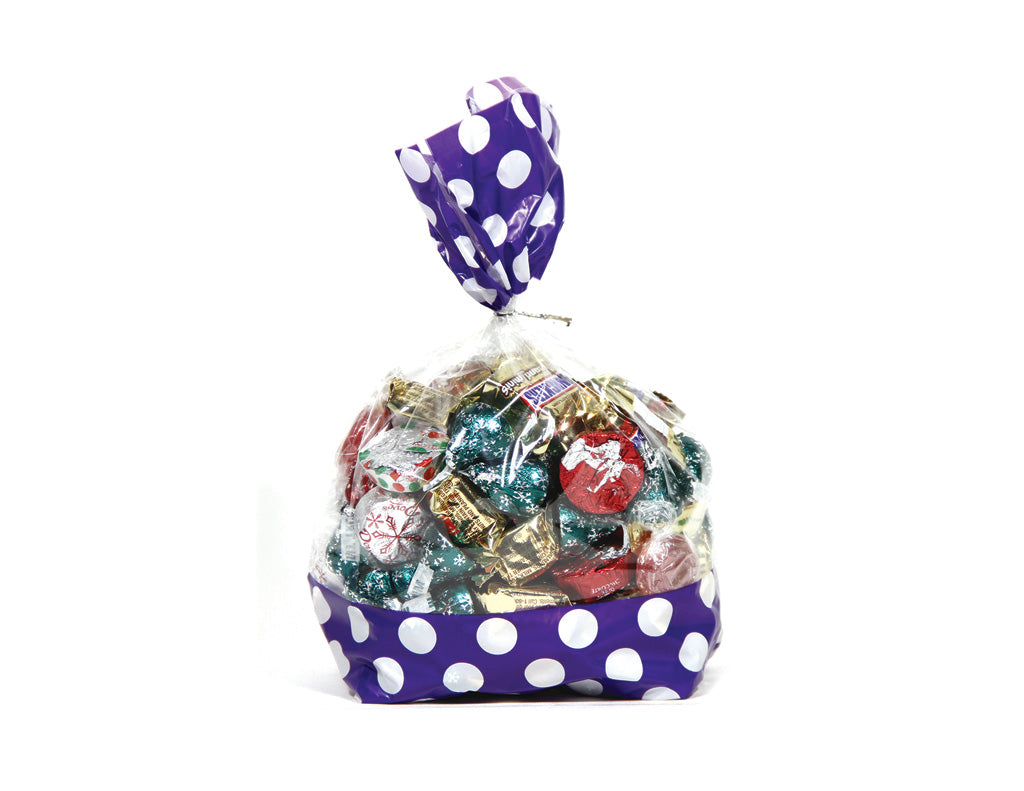 Large Polka Dot Favor Bags