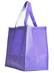 Non-Woven Bag, reusable grocery bag, fabric bags, reusable non-woven tote bags, lavender grocery bags, school bags, lunch bags
