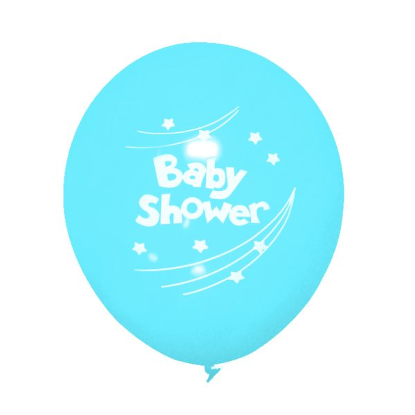 "Baby Shower Balloons, 12"" Latex Printed Balloons, Baby Shower Party, Party Decorations, Party Balloons - Gift Expressions"