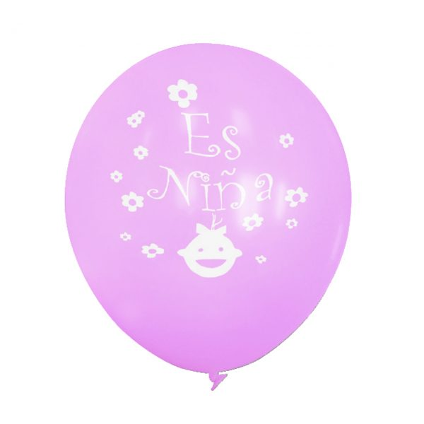 "12"" ES NIÑO & NIÑA 72 CT LATEX BALLOONS"