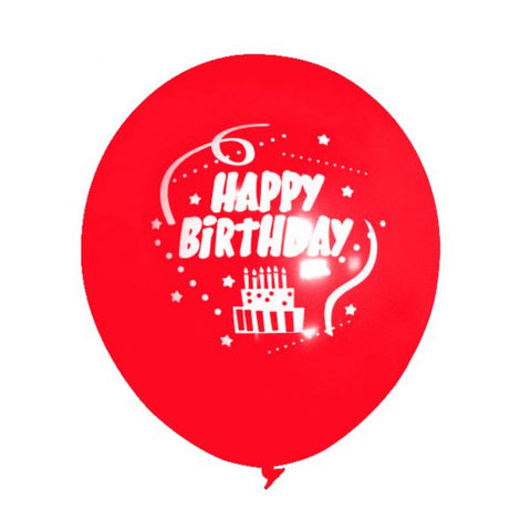 Birthday Party Balloons, Birthday Party Ideas, Red Birthday Party, Happy Birthday - Gift Expressions