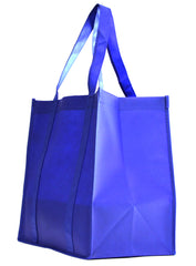 Non-Woven Bag, reusable grocery bag, fabric bags, reusable non-woven tote bags, royal blue grocery bags, school bags, lunch bags