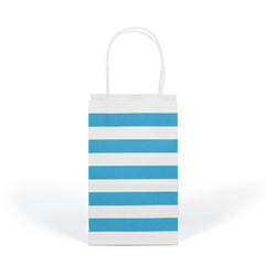 Cheap striped kraft bags, premium striped kraft bags, kraft bags,  paper bags with handles,  kraft paper bags,  small paper bags with handles,  paper bags with handles wholesale,  kraft gift bags,  cheap paper bags with handles