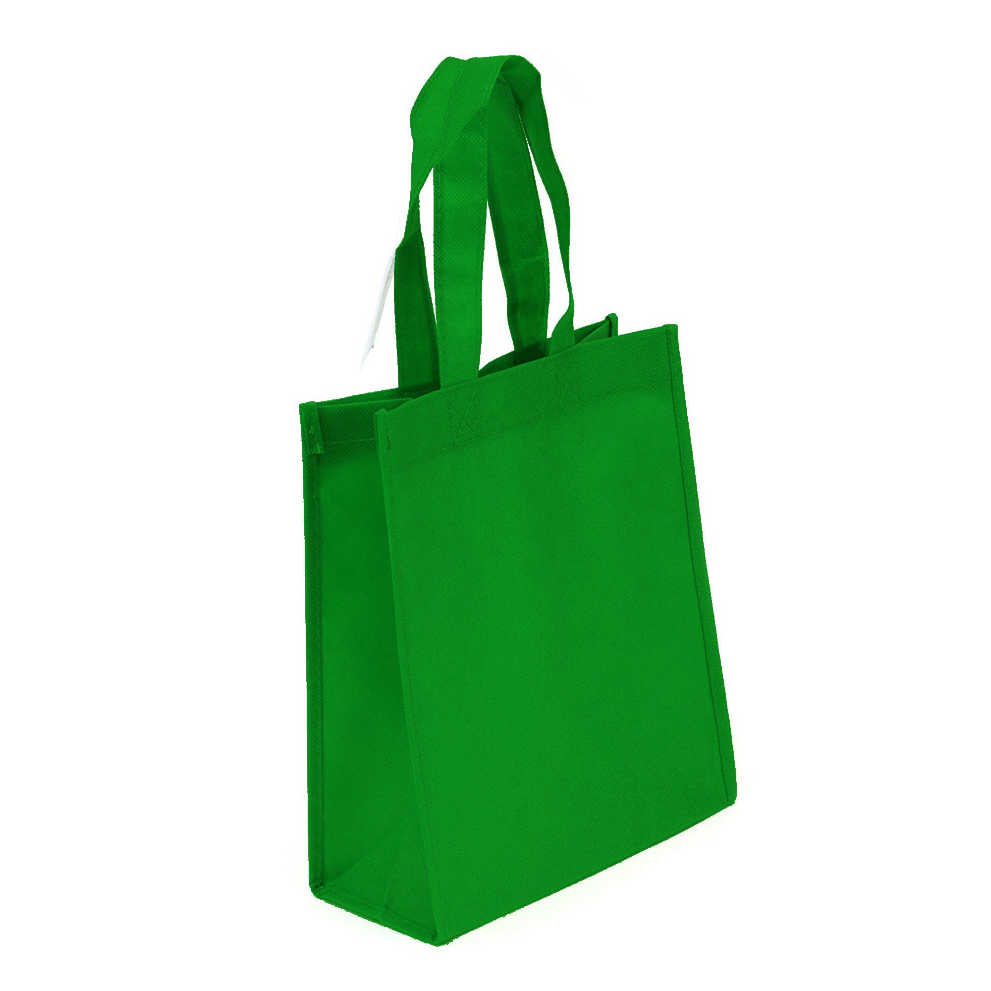 Non-Woven Bag, reusable grocery bag, fabric bags, reusable non-woven tote bags, lime green grocery bags, school bags, lunch bags, small lunch bags