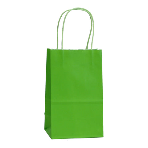 [Free Shipping] Halloween Edition Lime Green Kraft Bags