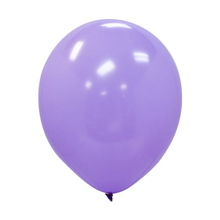 "Party Balloons, Solid Balloons, 12"" Solid Balloons, Colorful Balloons, Lavender Balloons - Gift Expressions"