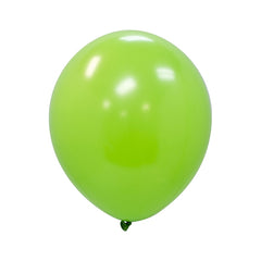 "Party Balloons, Solid Balloons, 12"" Solid Balloons, Colorful Balloons, Lime Green Balloons - Gift Expressions"