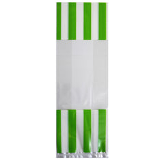 12 CT | Medium Stripes Favor Bags