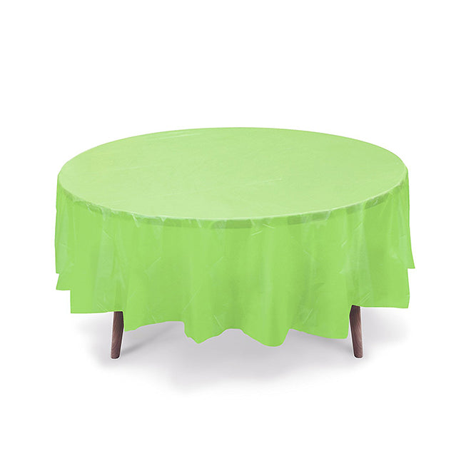 Heavy Duty Round Table Cover [Lime Green]